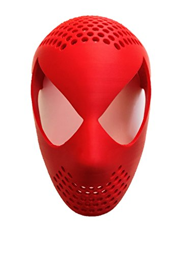 Spider-Man Face Shell by Aesthetic Cosplay Spiderman Mask Spiderman Face - Lenses Amazing Spiderman The