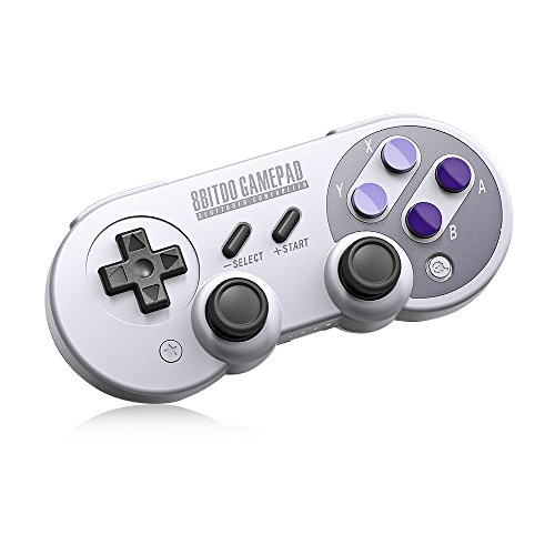 8Bitdo SN30 Pro,Wireless Bluetooth Controller with Classic Joystick Gamepad for PC,Android,Windows,macOS,Steam - Nintendo Switch (SN30 Pro) (Classic Joystick For Pc)
