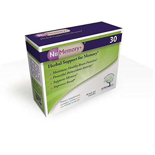 NuMemory+ 30, Herbal Support for Memory*