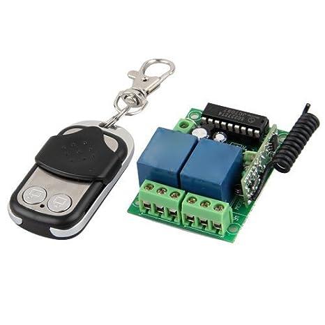 Universel Télécommande Porte Garage Sans Fil Transmetteur Amazon - Telecommande porte garage