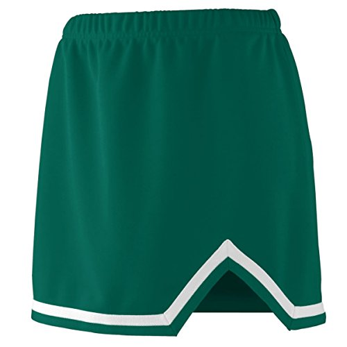 - Augusta Ladies Energy Skirt (Dark Green_White) (XL)