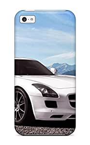 Hot Mercedes Sls Amg 11 First Grade Tpu Phone Case For Iphone 5c Case Cover