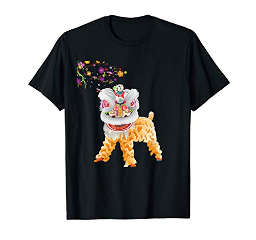 Beautiful Chinese Lion Dance Shirt Outfit Costume