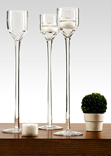 Wedding Leggy Footed Votive Holder, 12in H X 2in W, Each ()