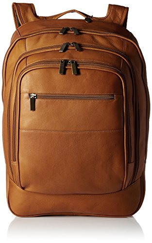 Tan Leather Backpack - 3
