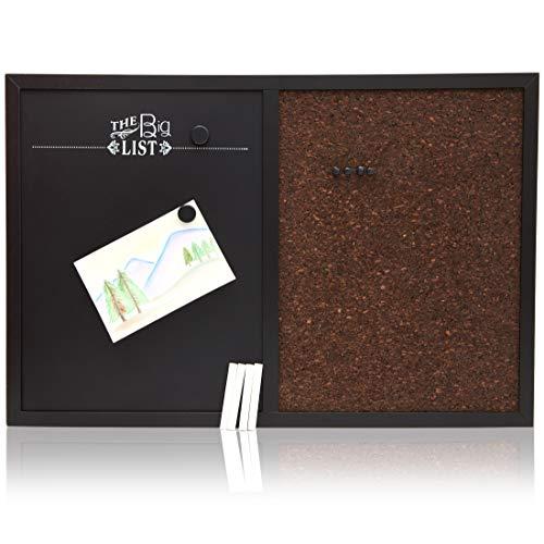 (Juvale Chalkboard Corkboard Bulletin Board Combo (24 x 16 Inches))