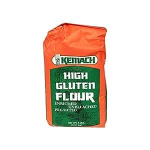 Amazon.com : Kemach High Gluten Flour Enriched Unbleached