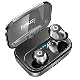 [Updated Version] Wireless Earbuds Bluetooth Headphones iPX7 Waterproof 72H Cycle Play Time, 2200mAh Bluetooth 5.0 Auto Pairing Wireless Earphones Bluetooth Headset with Charging Case