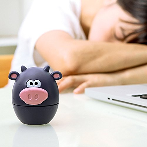 - Dressffe Polar zoo Pig Kitchen Timer Cute Cooking Gadget Tool Fun Collectible For Pet (A)