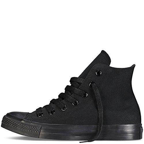 Sneakers alte unisex Chuck Taylor All Star (10 D (M) US, nero monocromo)