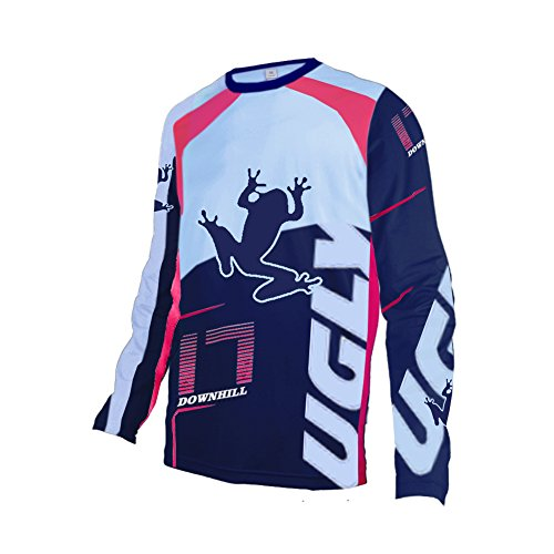 Uglyfrog UGSJF02 2018-2019 MTB Racing Wear New Mens BMX Bike Jersey Long Sleeve Men Downhill Montain Bike Top (Customize Your Own Bmx Bike For Cheap)