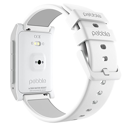 Pebble 2 + Heart Rate Smart Watch- White/White by Pebble Technology Corp (Image #3)