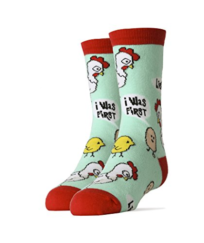 Kids Youth Crew Funny Novelty Socks Chicken Gifts