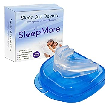 8ca62b782ffb04 Amazon.com : SleepMore Snore Stopper Mouthpiece-Snoring Solution Anti  Snoring Devices, Sleep Aid Custom Fit Night Mouth Guard Bruxism and Snoring  Solution : ...