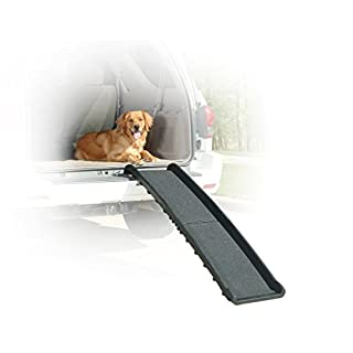 PetSafe Solvit UltraLite Bi Fold Pet Ramp, 62 In., Portable Lightweight Dog