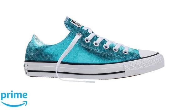 228d5128a7fce Amazon.com   Converse Chuck Taylor All Star Ox Sneakers Fresh Cyan ...