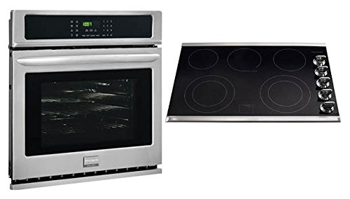 Frigidaire Gallery Collection Built-In Bundle Power Buy Featuring 30'' Single ELECTRIC Oven with Convection and 30'' ELECTRIC Smoothtop Cooktop