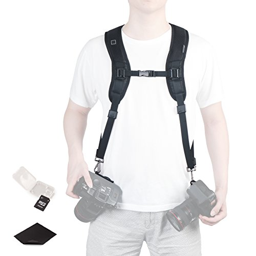 Double Shoulder Quick Release Camera Strap Rapid Fire Dual-Shoulder Camera Strap