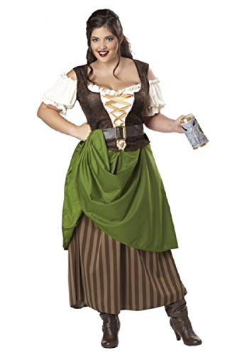 Adult size Tavern Maiden - Plus Size Costume - 3X-Large