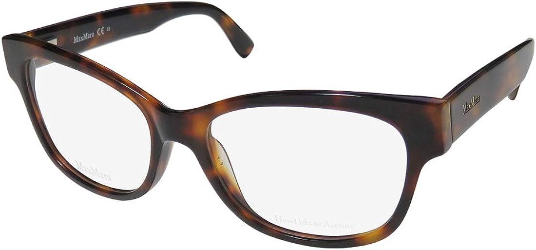 Braun MAX MARA Brillengestelle MM 1213 Rechteckig Brillengestelle 52
