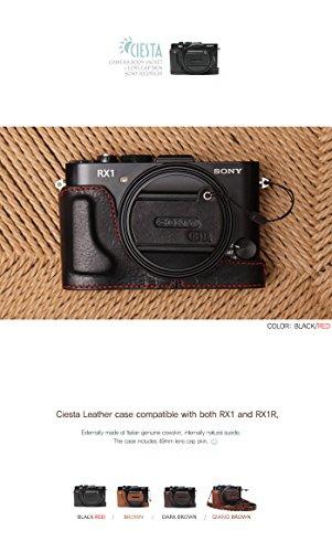 CIESTA Leather Camera Case /& Cap Skin CSJ-RX1-02 Brown For Sony RX1//RX1R
