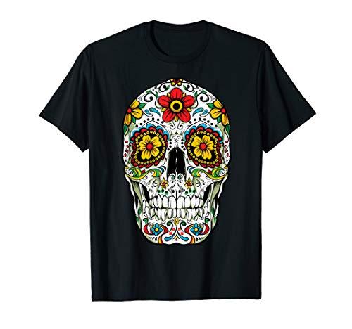 Day Of The Dead Sugar Skull Funny Cinco de Mayo Men Women ()