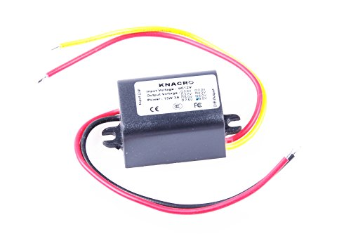 KNACRO DC-DC 12V to 9V 2A Step-down power supply module Car power converter module Synchronous buck With Reverse connection ()