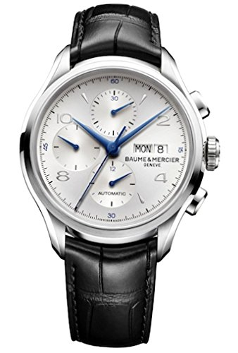 Baume-and-Mercier-Clifton-Chrongraph-Leather-Automatic-Mens-Watch-M0A10123