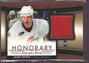Jason Spezza 2005-06 Ud Trilogy Game Used Worn Jersey Patch Sp Senators $20