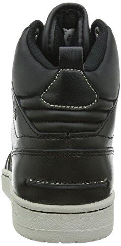 adidas Neo Hoops Merotoner Scarpe, Nero Cuoio F38421 Nero, 45,5
