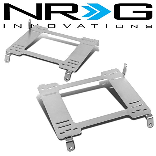NRG Ford Mustang Tensile Stainless Steel Racing Seat Mounting Bracket (Left & Right) - 5th Gen