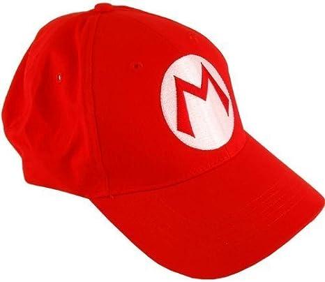 Nintendo 2pcs Super Mario Bros Gorra de béisbol Mario Luigi ...