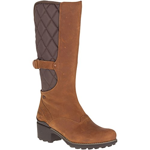 Image of Merrell Women's Chateau Tall Pull Waterproof Snow Boot