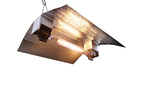 VIVOSUN Double Ended Wing Reflector Hood for DE Lamps Aluminum Lined for Grow Tents and Rooms (Best Double Ended Reflector)