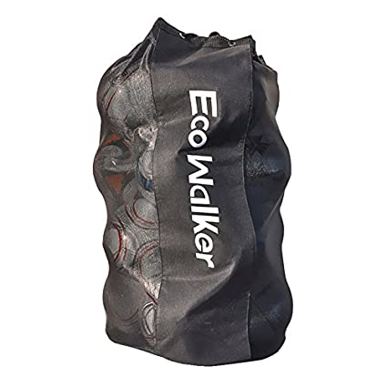 ec5b272b1d3 Image Unavailable. Image not available for. Color  Eco Walker Ball Bag  Large Capacity (Holds 16 Soccer Balls) Heavy Duty Mesh Drawstring