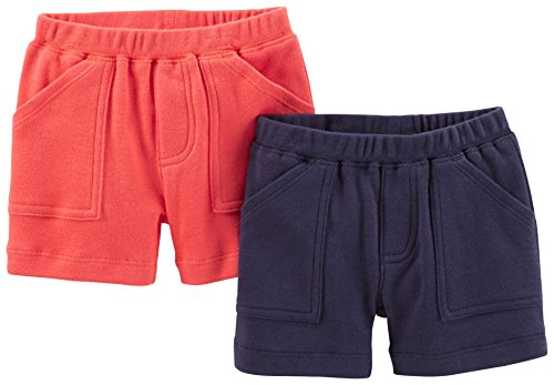 Carter's Baby Boys' Essentials 2-pack Shorts