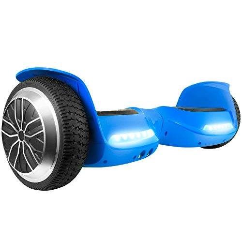 OTTO T67SE Self-Balancing Hoverboard w/Bluetooth Speaker, UL2272 Certified (Blue)