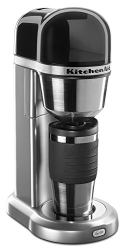 KitchenAid KCM0402CU Cafetera Personal de 18 on (510.2 g), plateada