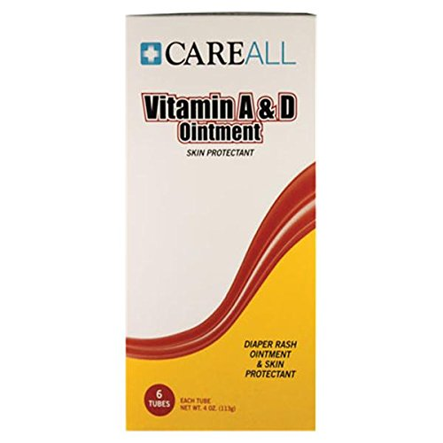(Careall Vitamin A&D Ointment,4 Oz Tube, Pack Of 6)