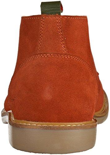 Kickers TYL, Desert Boots Femme Rouge (rouge Brique)