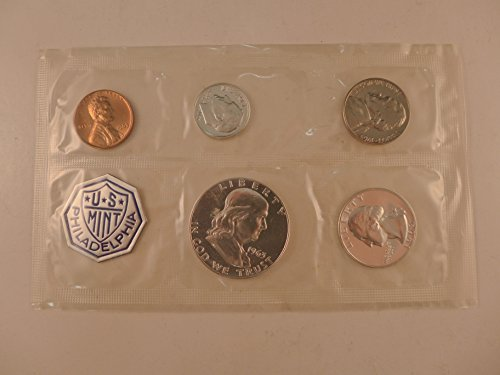 - 1963 US Proof Set 5 coin silver set Mint State