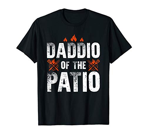 Daddio Of The Patio tshirt Happy Fathers Day Gift (Patio Paine's)