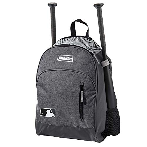 (Franklin Sports MLB Batpack Bag - Perfect for Baseball, Softball, & T-Ball -)