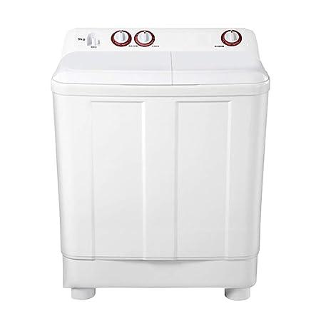 Lavadora semiautomática pequeña de Doble cubeta con 9 kg de Gran ...
