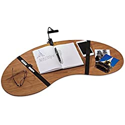 Levenger Wooden Lap Desk, Natural Cherry (FA6030 CH)
