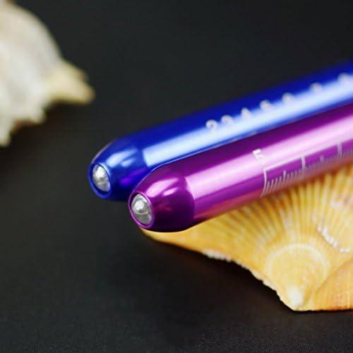 couleur al/éatoire Luoem LED Lampe stylo avec calibre de pupilles r/éutilisables pour Doctor Nurse Home 3/pcs