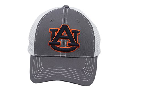 Collegiate Headwear Men's Auburn Tigers Embroidered Snap Back Cap