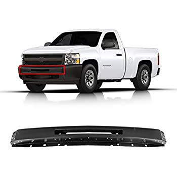 For 2007-2013 Chevy Silverado 1500 Chrome Steel Front Bumper Impact Face Bar New