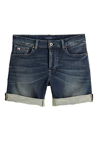 Scotch & Soda Shorts Men Ralston 148663 Dunkelblau 2651 Blauw Touch