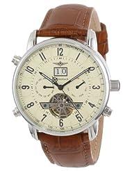 Breytenbach Men's BB7745BE Classic Analog Enamel Bezel Watch